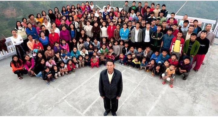 Աշխարհի ամենամեծ ընտանիքը՝ 39 կին և 86 երեխաներ