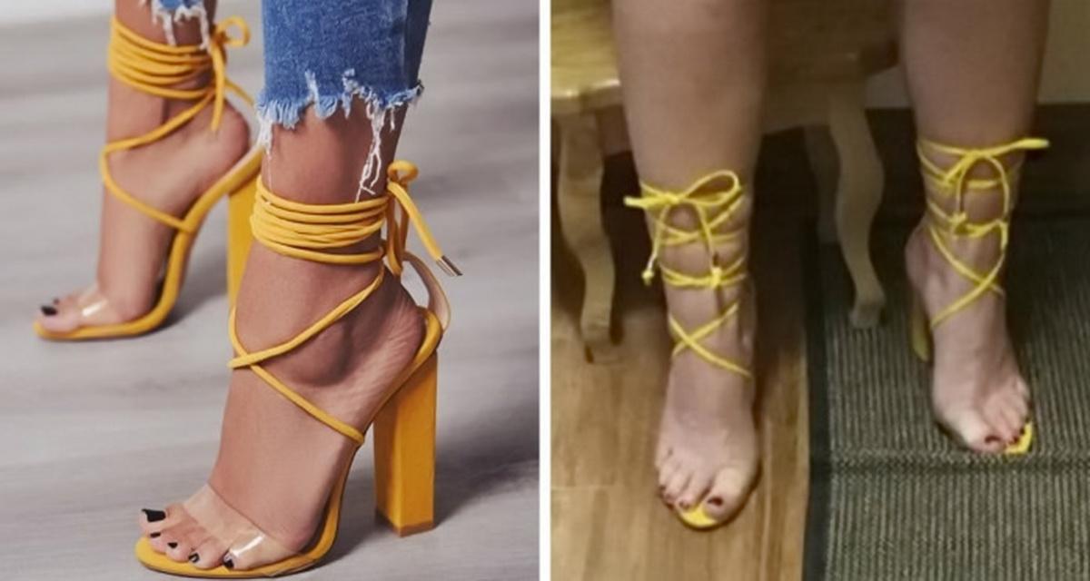Նրանք կոշիկներ են պատվիրել օնլայն խանութներից, և ահա թե ինչ են ստացել