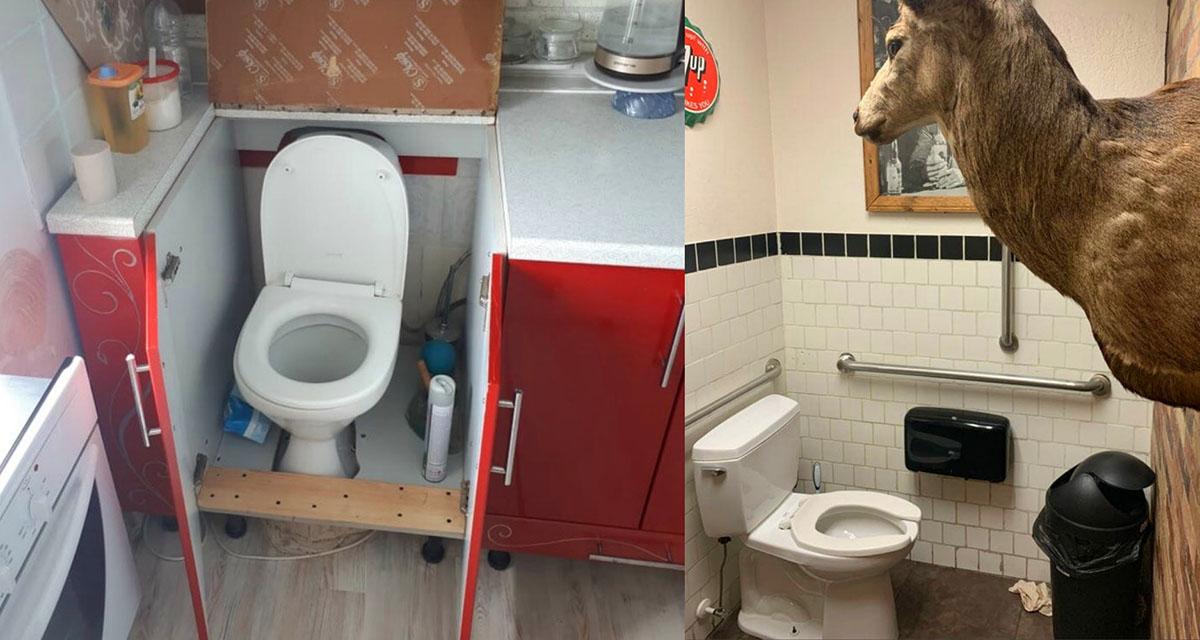 Լոգասենյակի ամենաանհաջող ձևավորումները