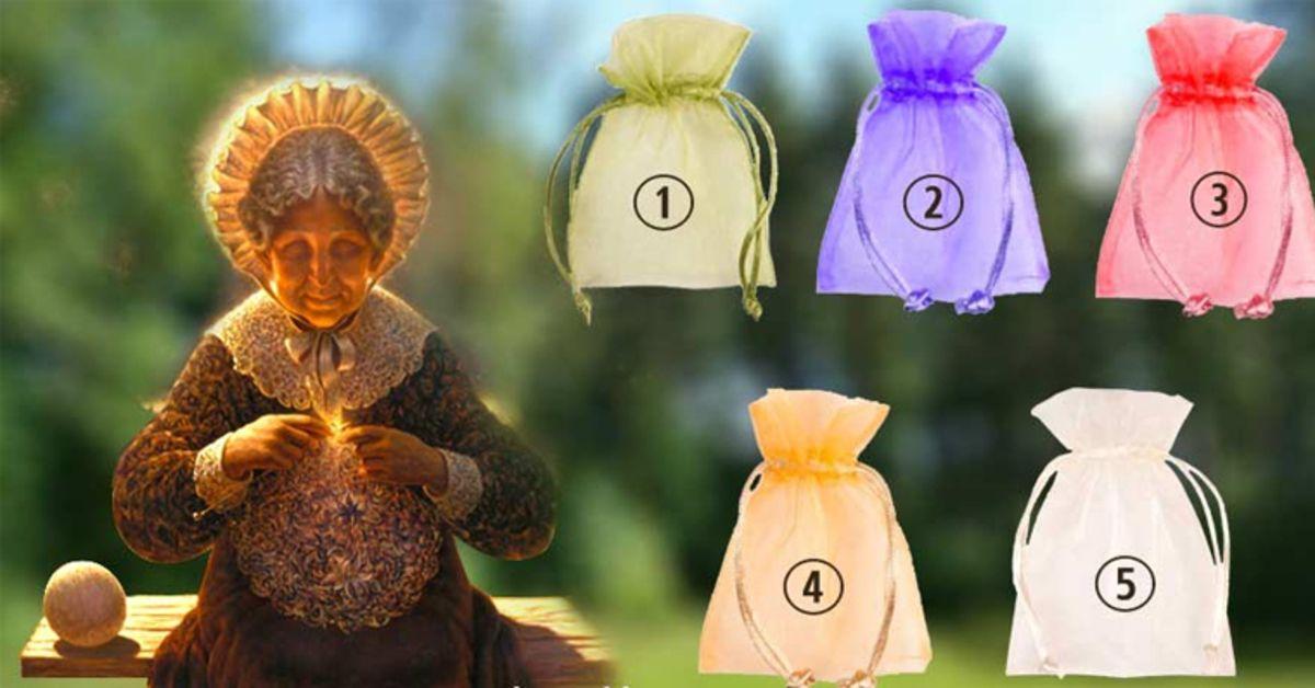 Թեստ։ Ընտրեք պարկը, որպեսզի ստանաք նվեր իմաստուն տատիկից