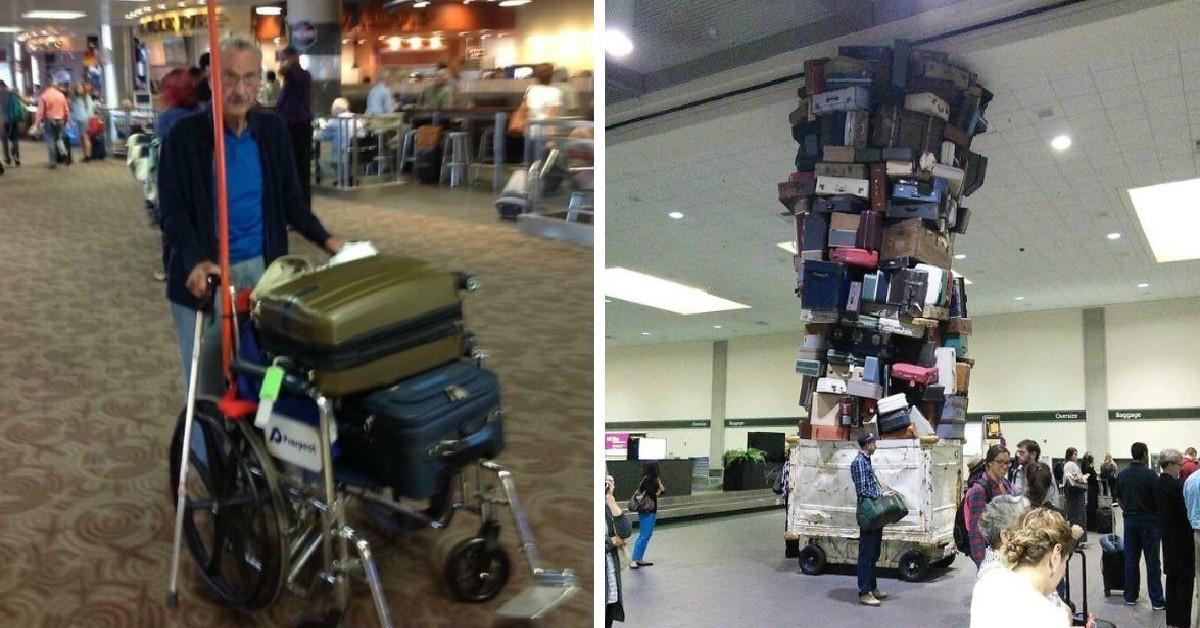 Ֆոտոապացույցներ այն մասին, որ օդանավակայաններում կարող եք տեսնել ամեն ինչ