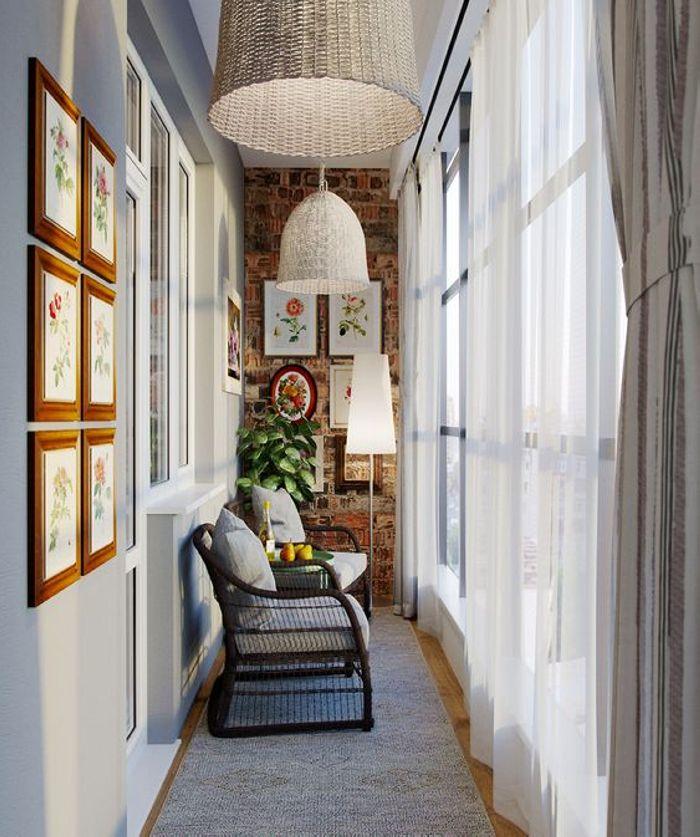 18 հիանալի գաղափարներ փոքրիկ պատշգամբը ոճային և գեղեցիկ դարձնելու համար