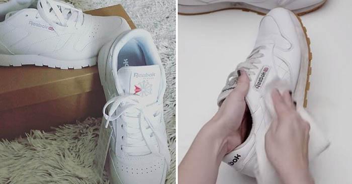 Այս մեթոդի շնորհիվ դուք կվերադարձնեք ձեր կոշիկներին նախկին սպիտակությունը